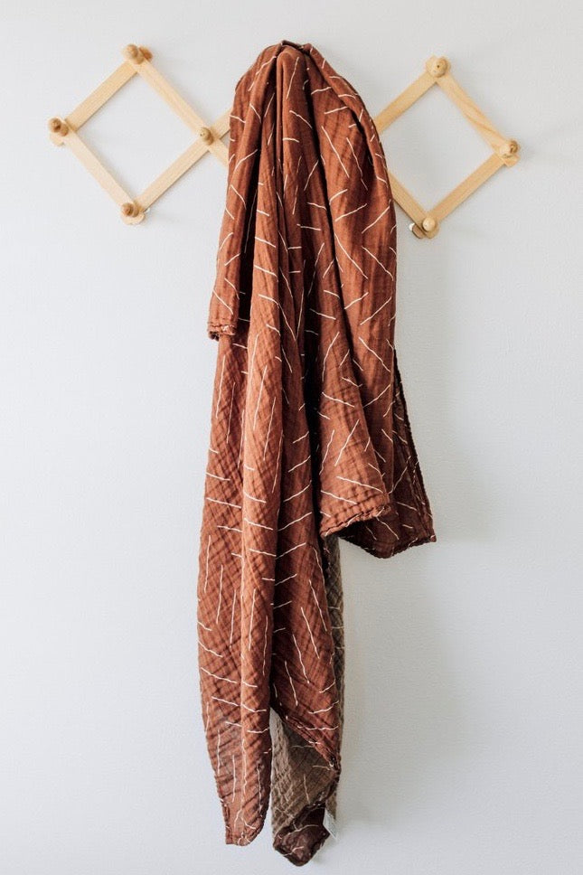Tribal Print Swaddle Blanket | ROOLEE