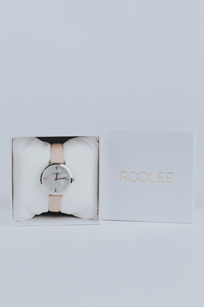 Blush and Pearl Watch | ROOLEE