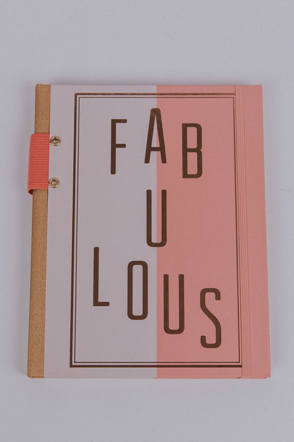 Fabulous Wordtoss Notebook | ROOLEE Home