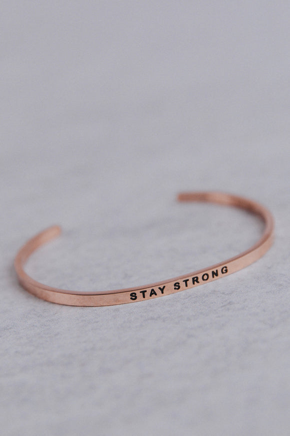 Rose Gold MantraBand | ROOLEE
