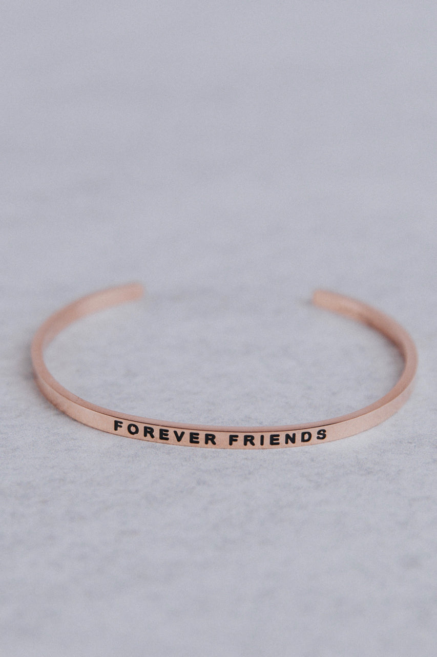 Forever Friends MantraBand in Rose Gold | ROOLEE