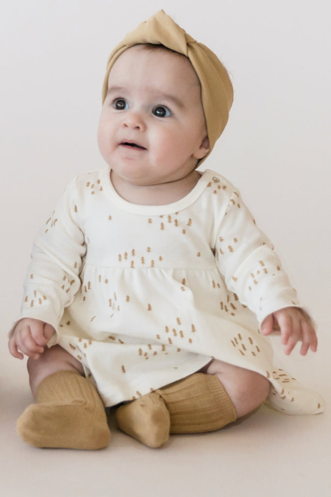 Printed Baby Dress | ROOLEE