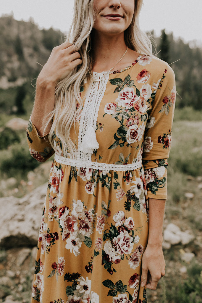 Kendra Floral Dress