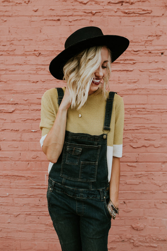 Philippa Denim Overalls