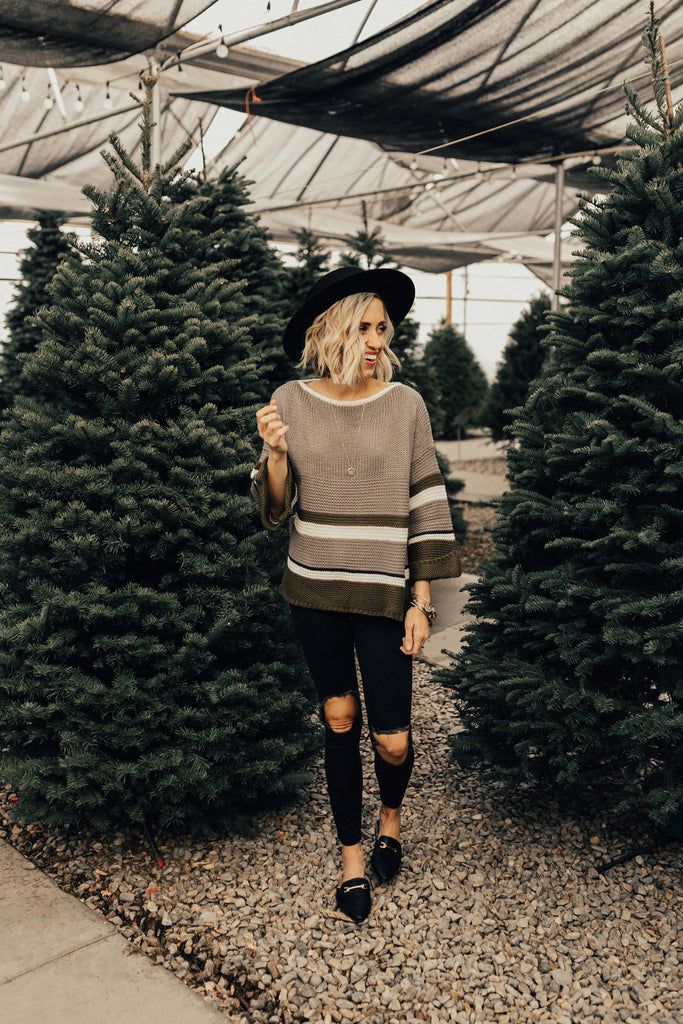 Lincoln Knit Stripe Sweater