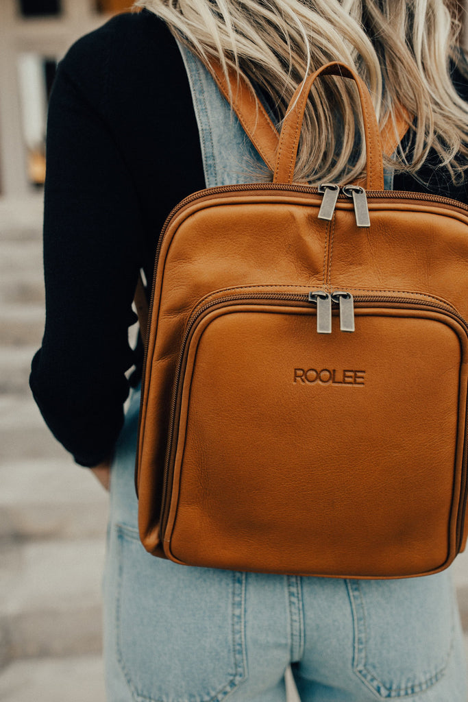 The Roanoke Leather Backpack
