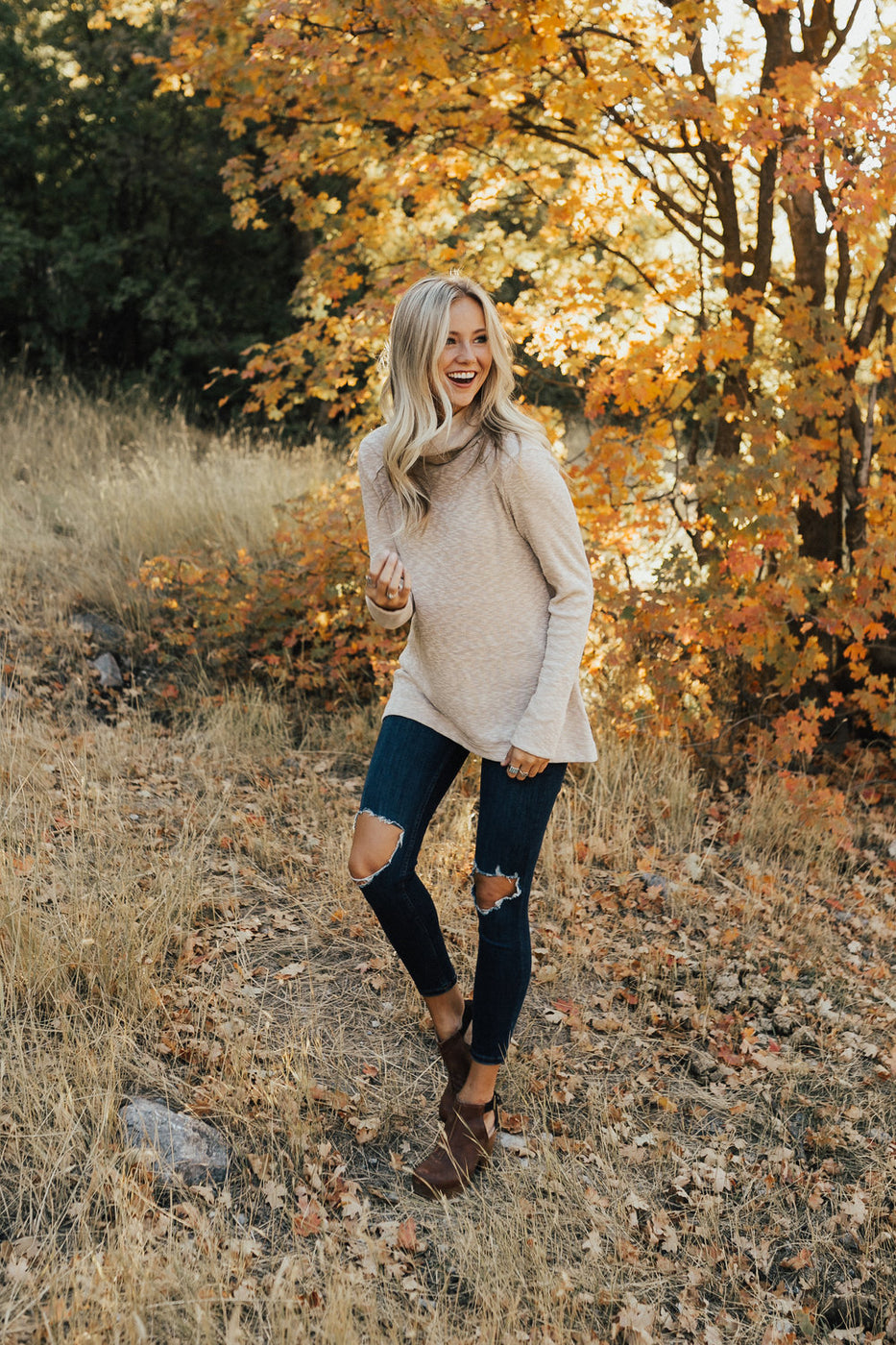 Channing Knit Tunic