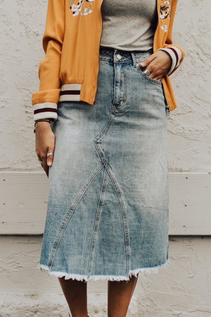 Estelle Denim Skirt