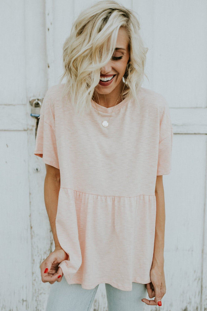Basic Short Sleeve Shirt For Women | ROOLEE
