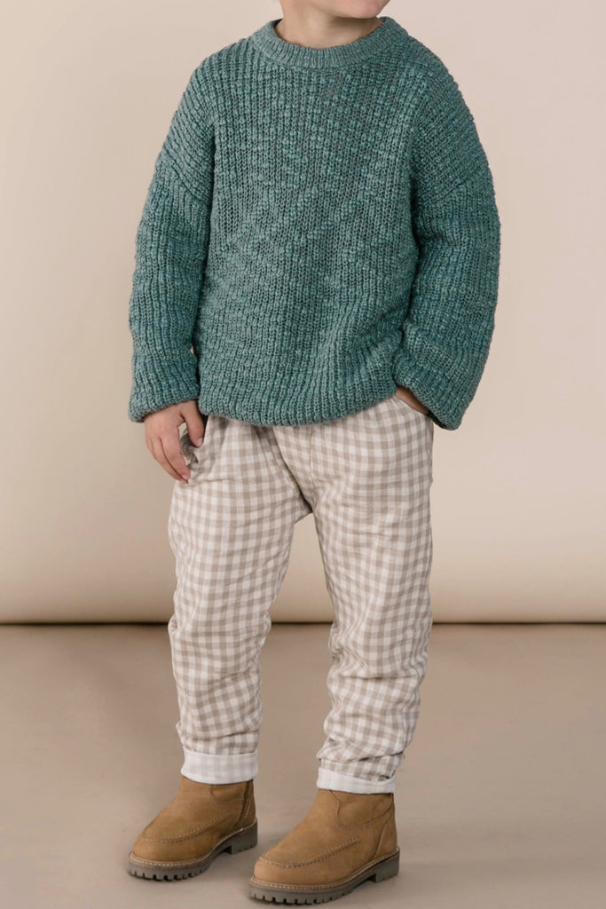 Baby Gingham Trousers | ROOLEE