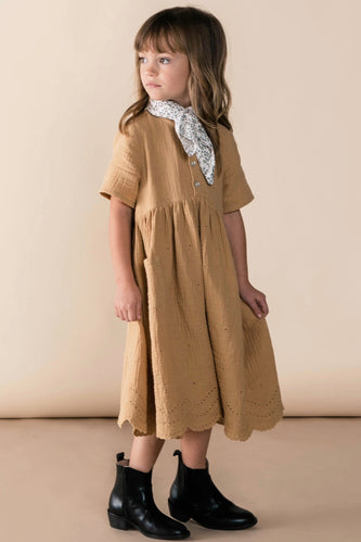 Cute Girls Dress for Church | ROOLEE
