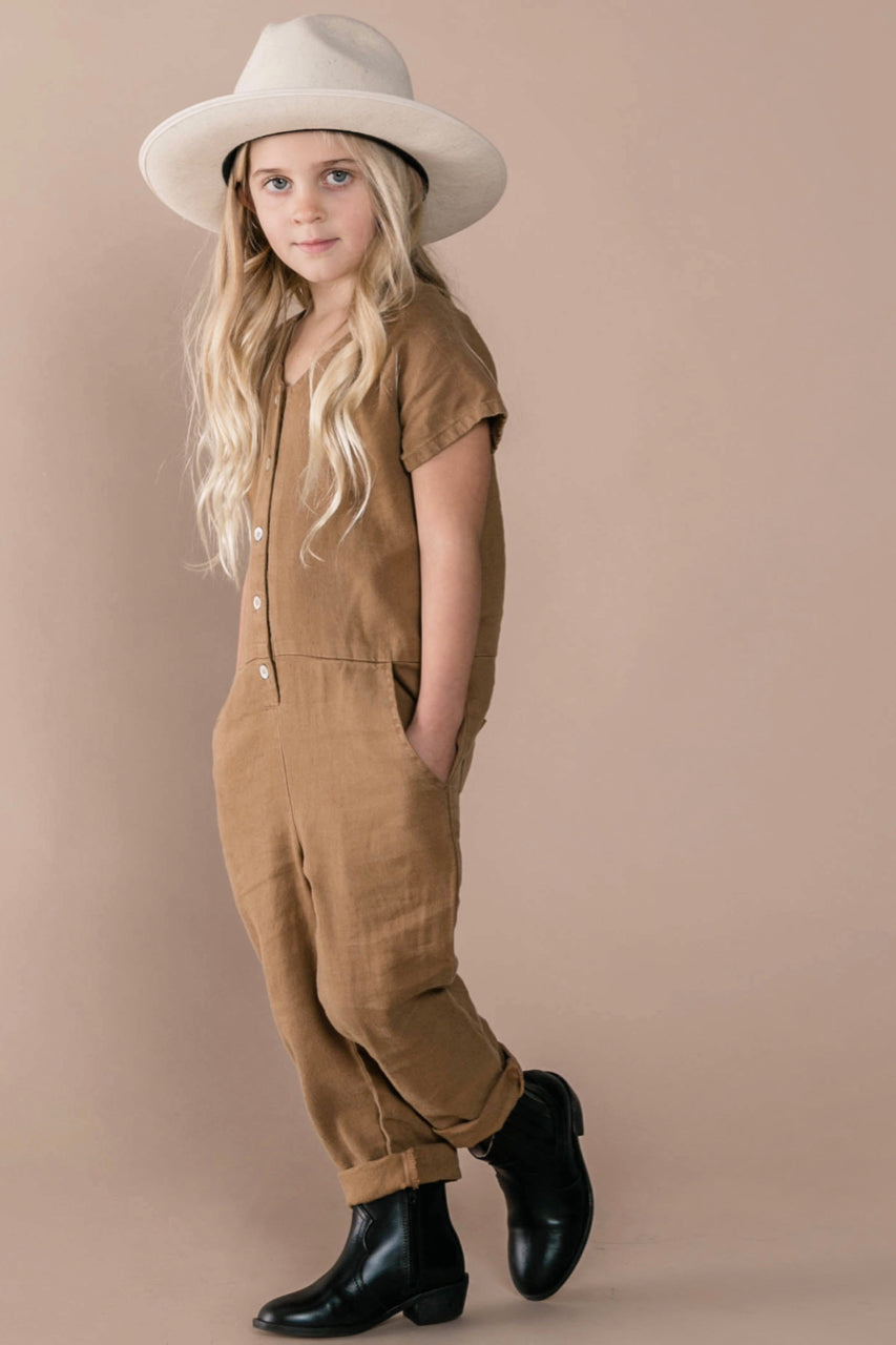 Little Girls Jumpsuits for Winter | ROOLEE