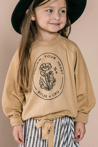 Cinched Kids Sweatshirt | ROOLEE