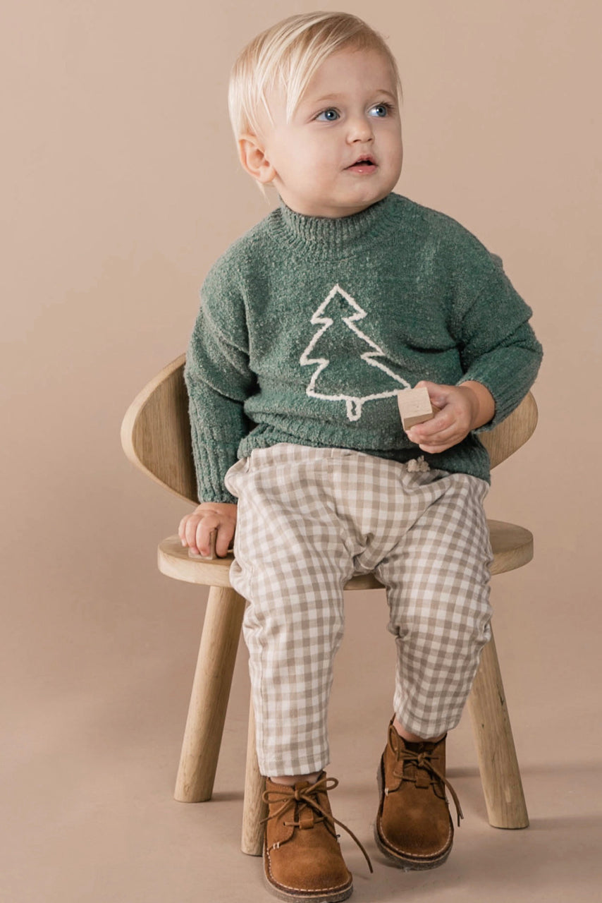 Green Winter Sweater | ROOLEE