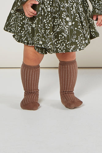 Rylee + Cru Wine Knee Sock Set