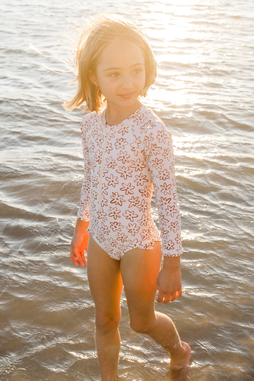 Girls Longsleeve Swim | ROOLEE