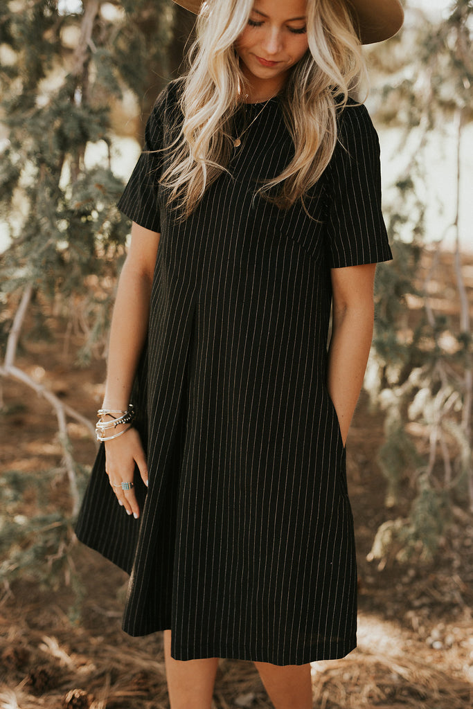 Silver Linings Dress in Black | ROOLEE