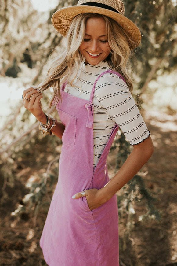 The Penny Dress in Pink | ROOLEE