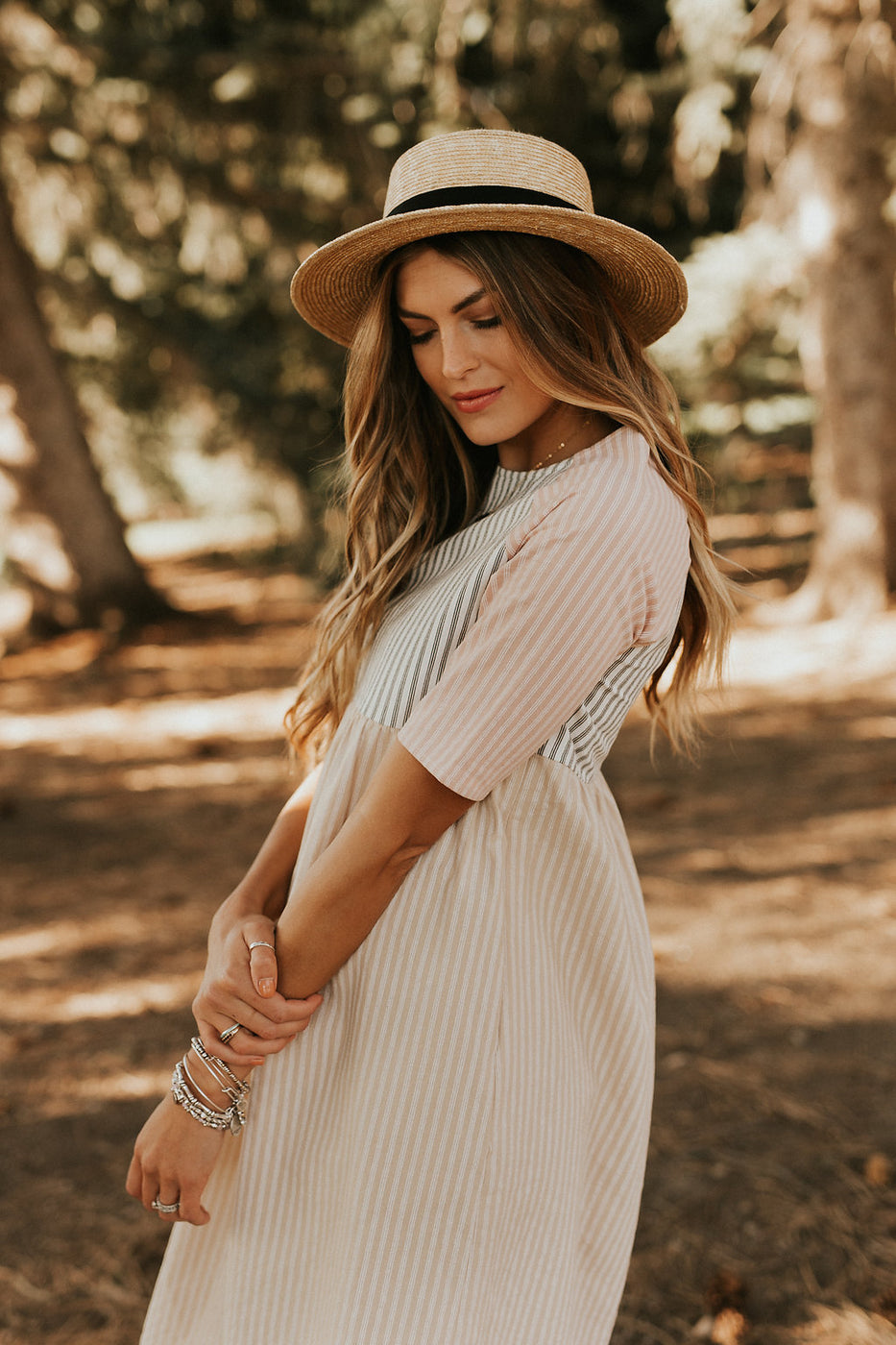 Pastel Stripe Dress | ROOLEE