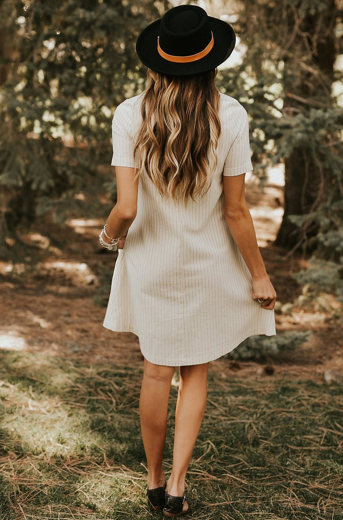 Cream Dress | ROOLEE