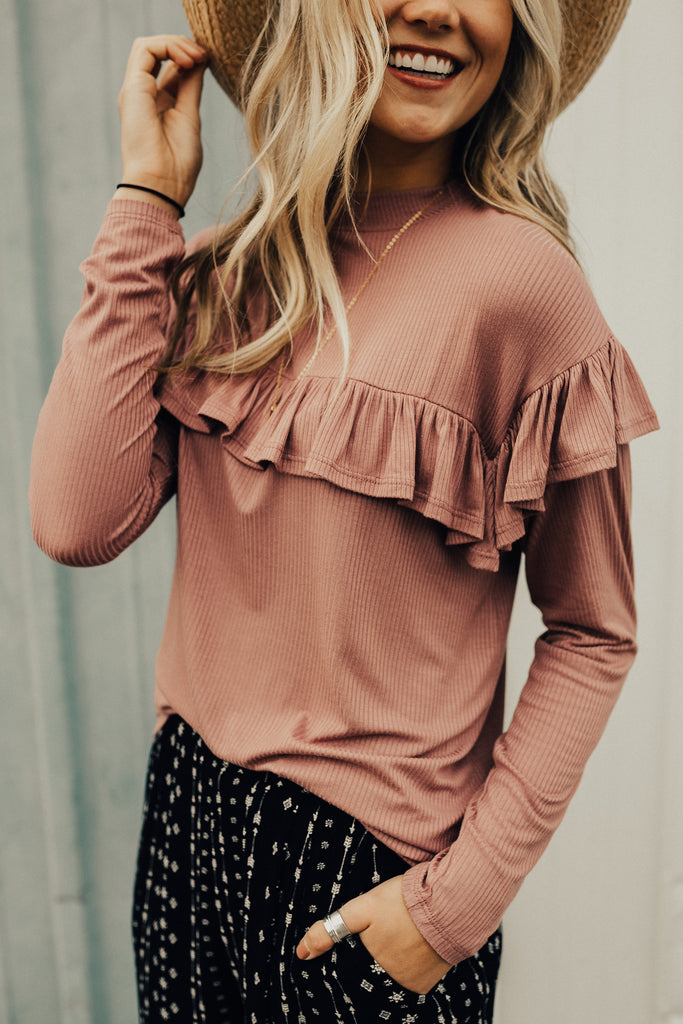 talk-the-talk-ruffle-blouse