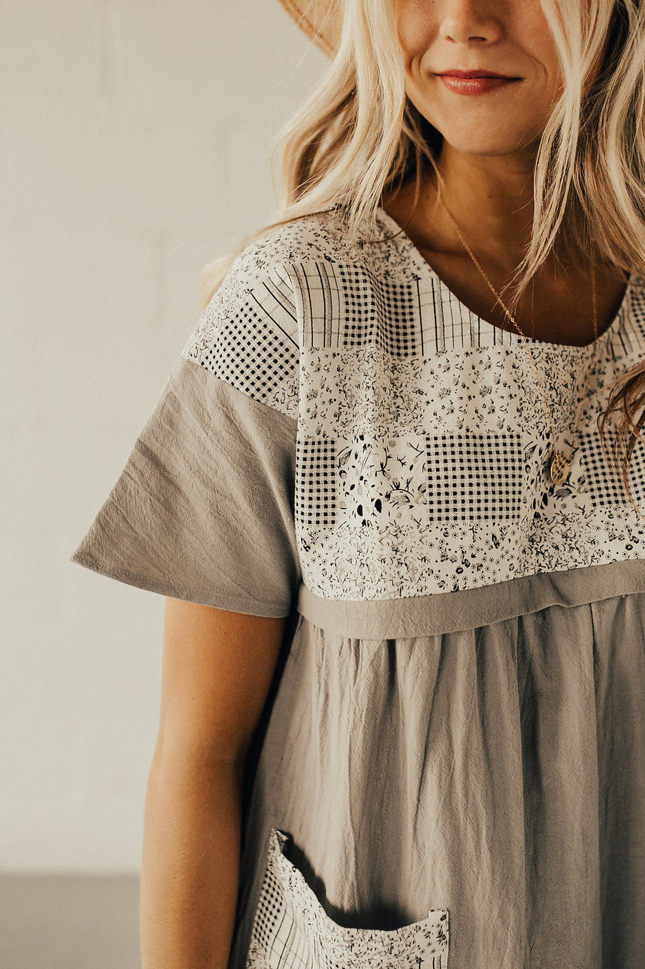 Aspen Patch MOM Dress
