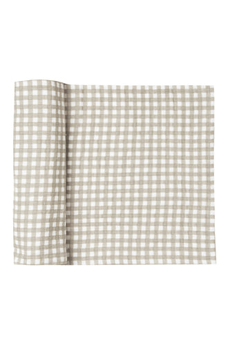 Gingham Swaddle for Babies | ROOLEE