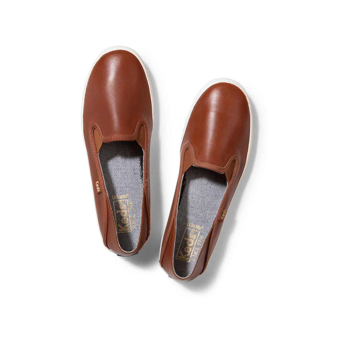 Leather Slip On Flats - Everyday Spring
