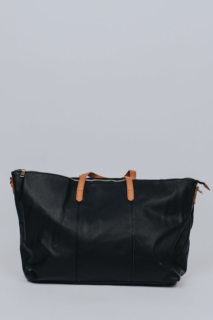 Black Tote Bag | ROOLEE