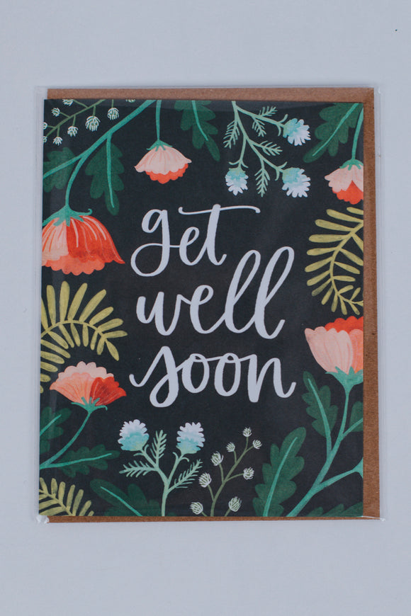 Get Well Floral Card | ROOLEE