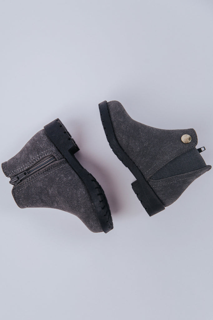 Grey Ankle Boots | ROOLEE