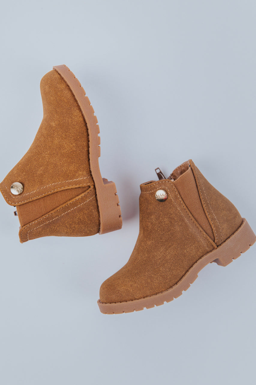 Tan Ankle Boots | ROOLEE