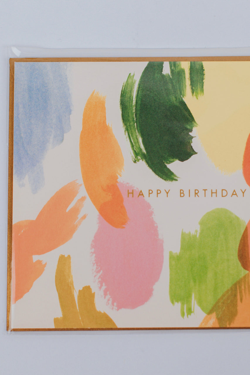 Painted Birthday Card | ROOLEE