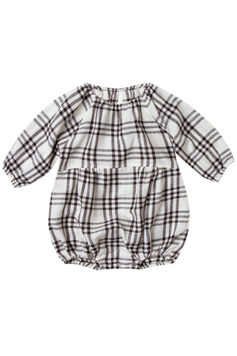 Baby Plaid Cute Romper | ROOLEE