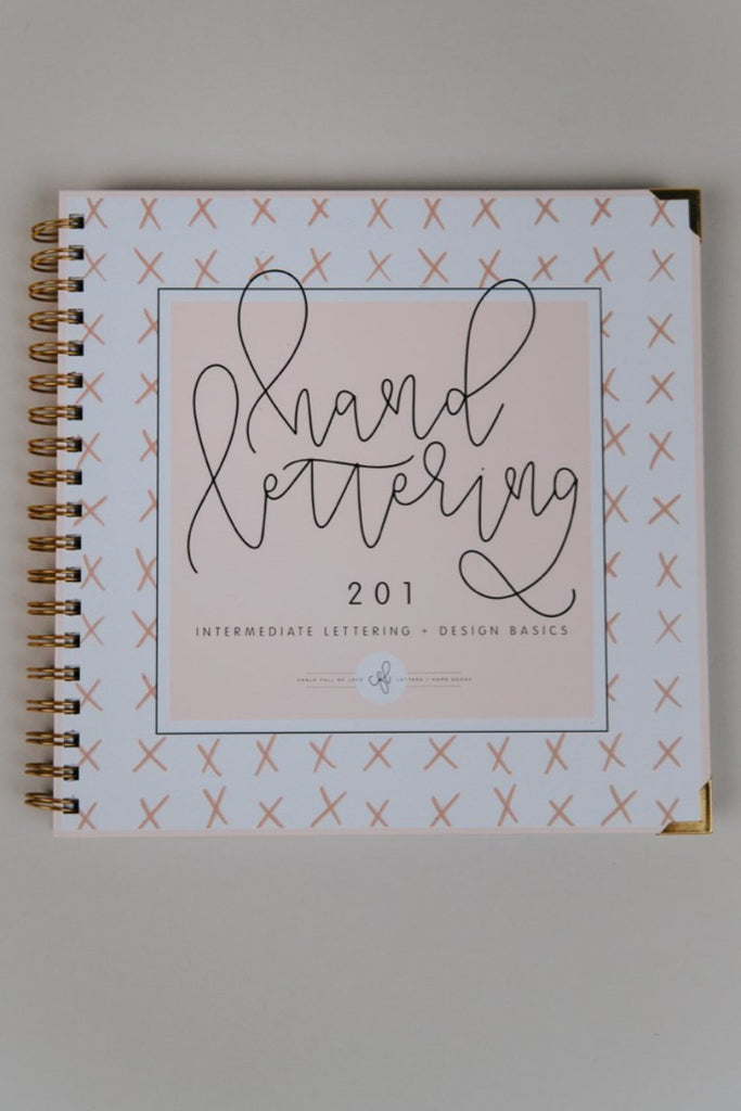 Hand Lettering Journal Basic Designs | ROOLEE