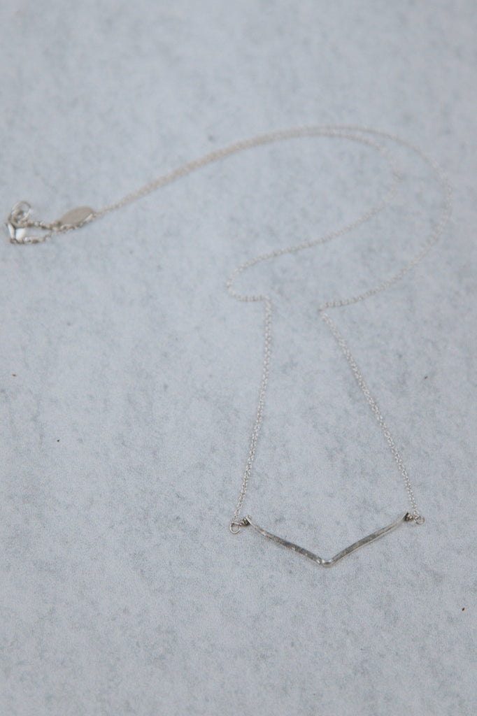 Silver Dainty Necklace | ROOLEE