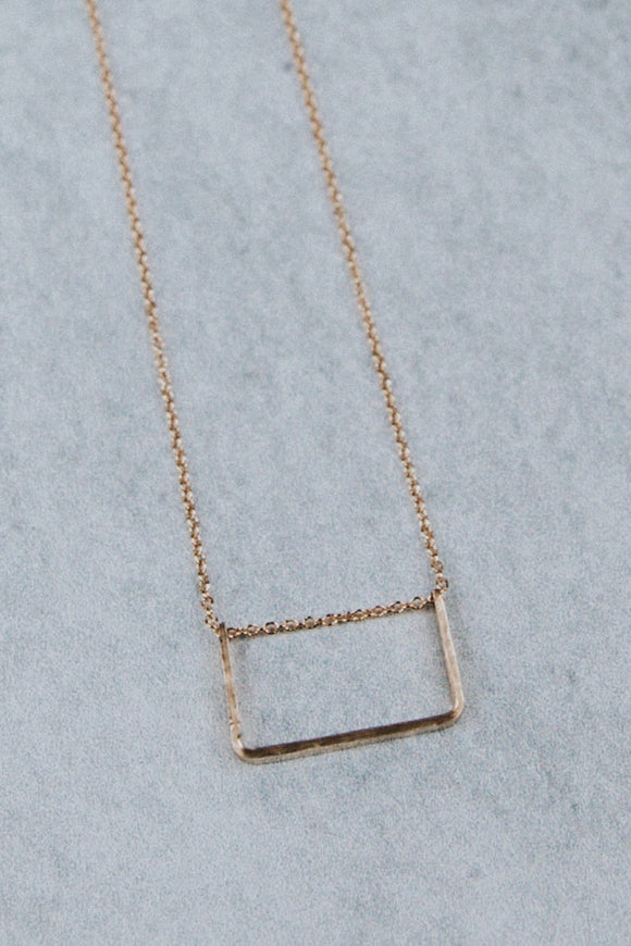 Simple Gold Necklace | ROOLEE