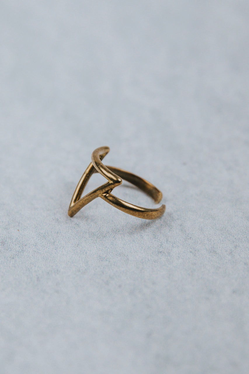 Adjustable Gold Rings | ROOLEE