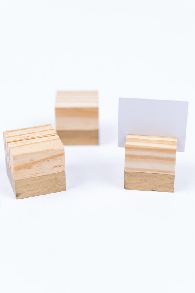Wooden Place Holder | ROOLEE