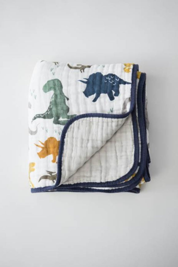 Dino Friends Quilt Little Unicorn | ROOLEE Kids