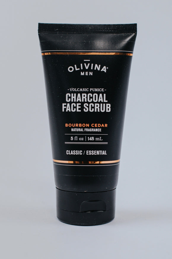 Volcanic Pumice Charcoal Face Scrub
