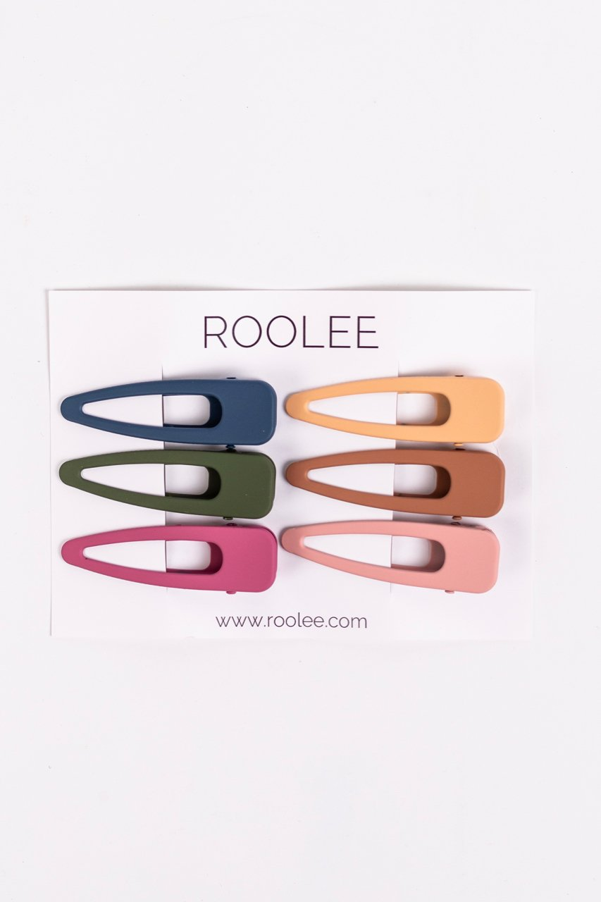 Pack of Hair Clips | ROOLEE