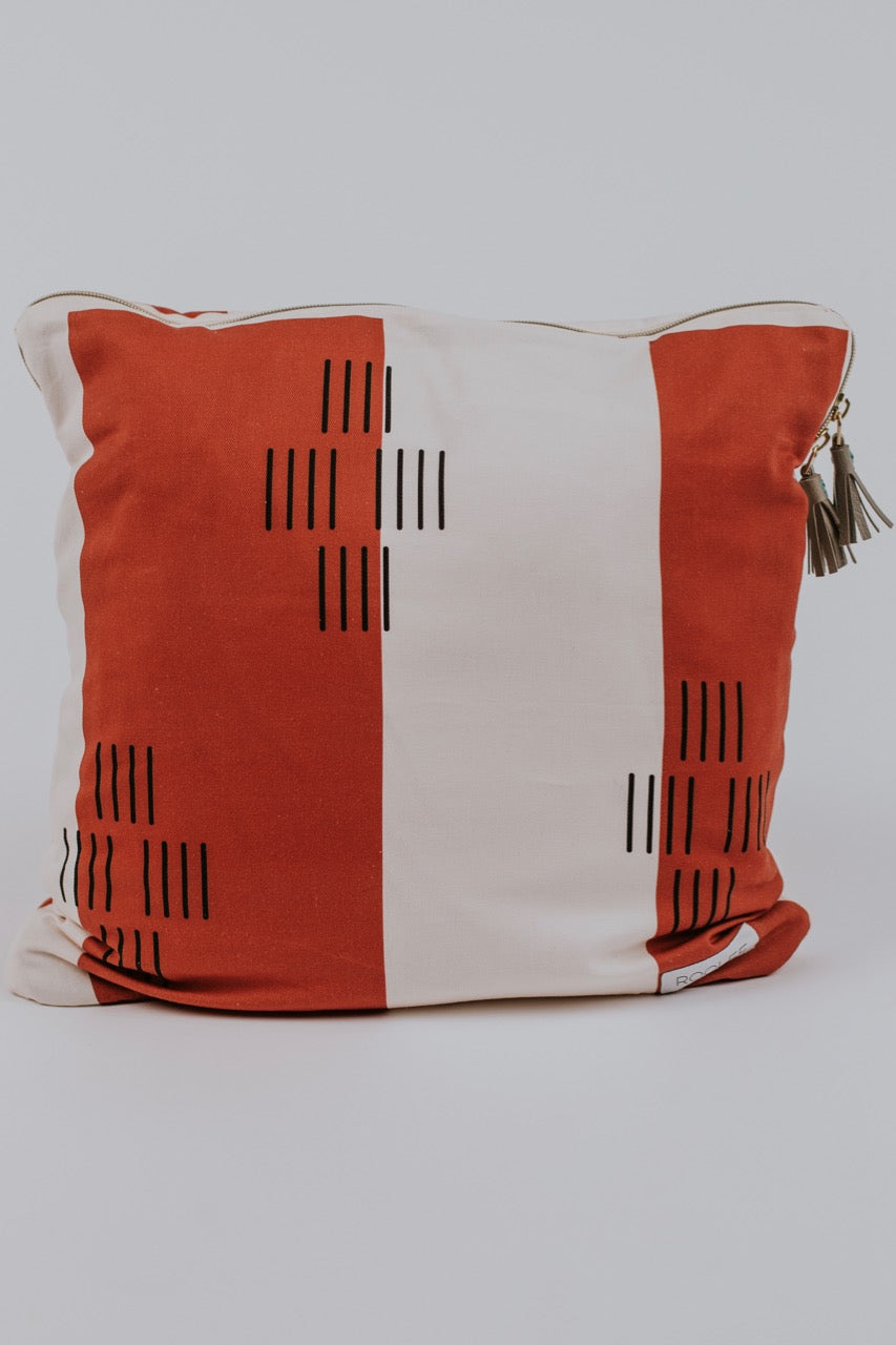 Dashes and Lines Pillow