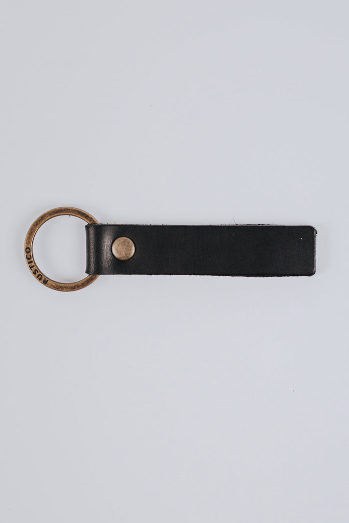 Leather Loop Men's Keychain | ROOLEE