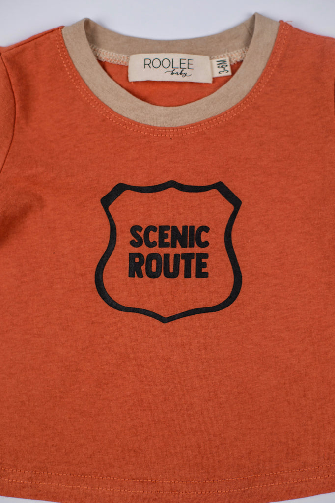 The Scenic Route Tee