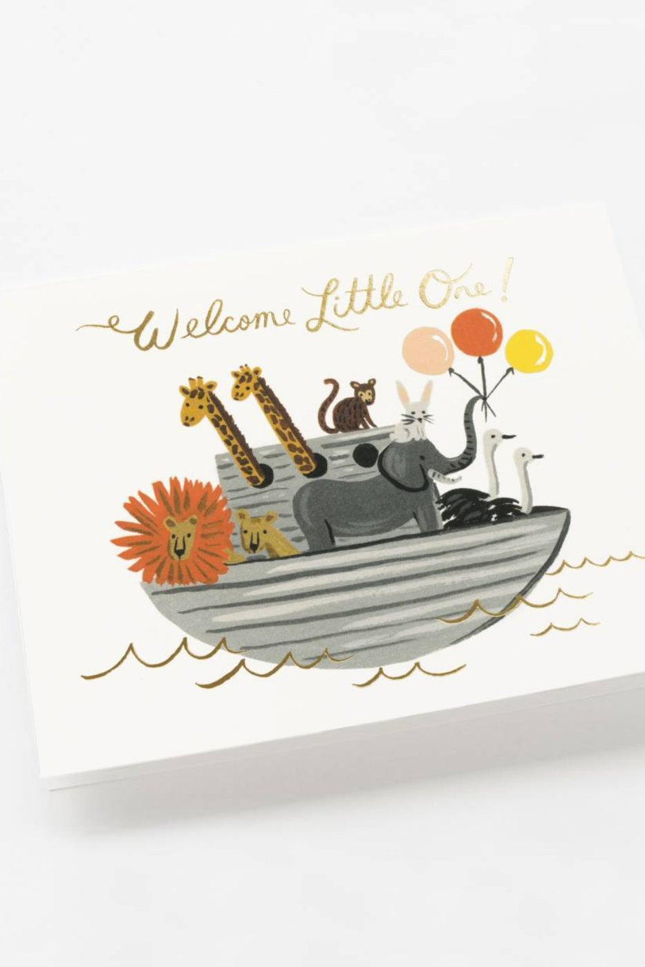 Noah's Ark Welcome Card | ROOLEE Paper + Party