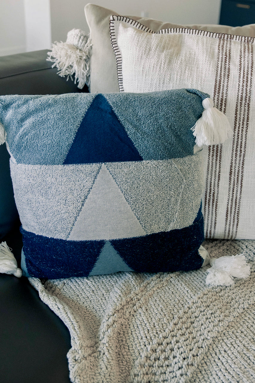 ROOLEE Jocasta Geometric Pillow