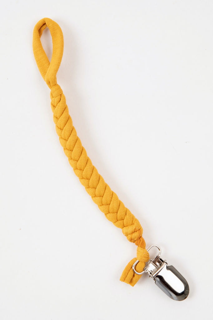 Braided pacifier clip | ROOLEE