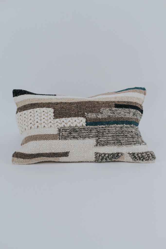 Stripe Textured Pillow | ROOLEE