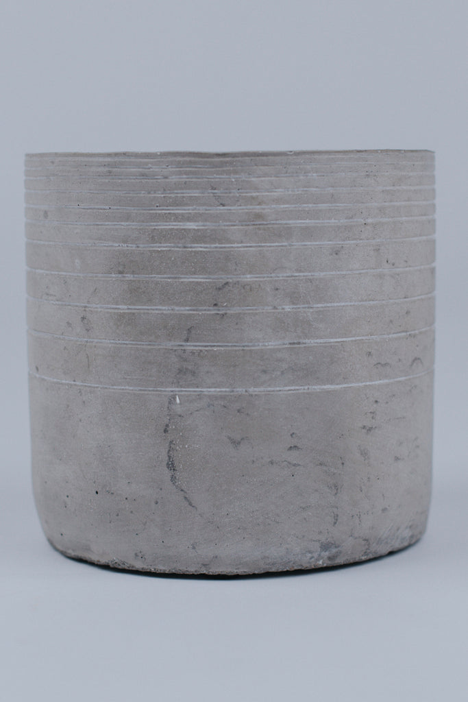 Large Cement Planter | ROOLEE